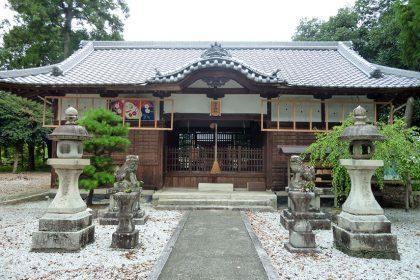 御霊神社 二見 社殿(正面)