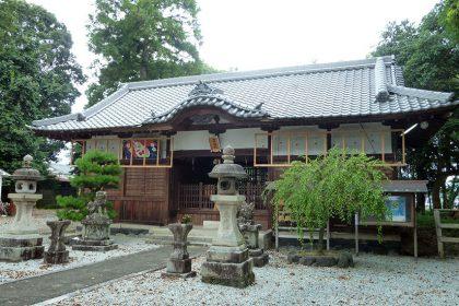 御霊神社 二見 社殿(横)