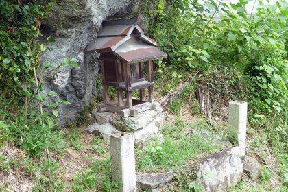 御霊神社 黒駒 落杣神社