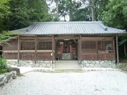 御霊神社 久留野 拝殿