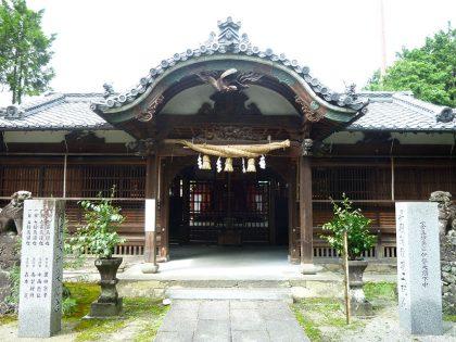 御霊神社 中之 拝殿