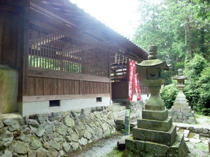 御霊神社 小和 拝殿