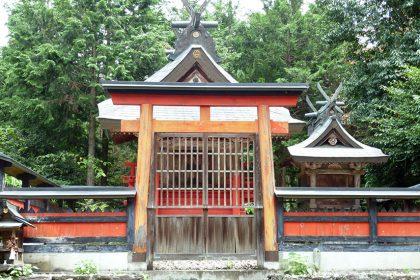 御霊神社 島野 本殿(正面)