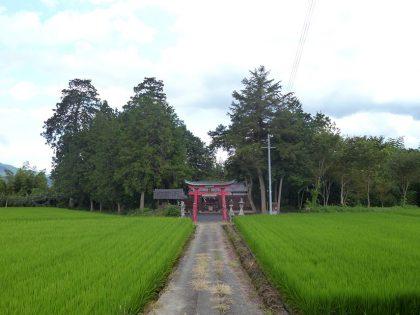 火雷神社 御山 参道