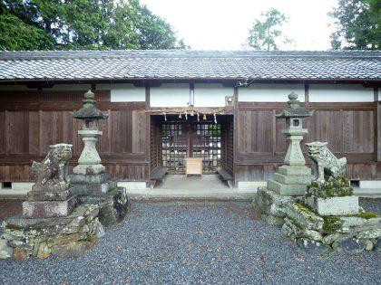 火雷神社 御山 拝殿