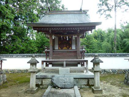 火雷神社 御山 本殿(正面)