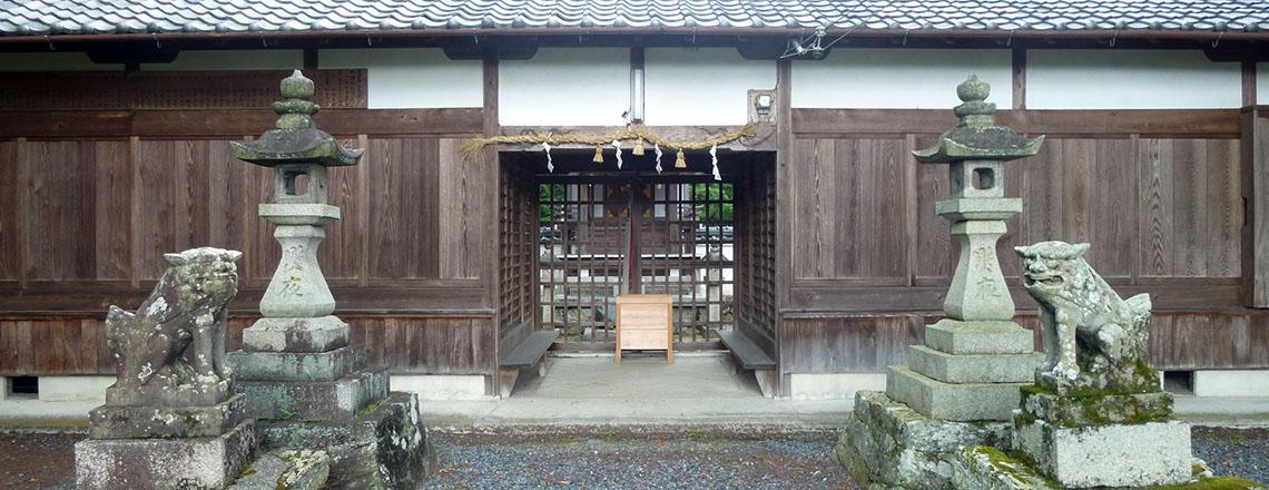 火雷神社 御山