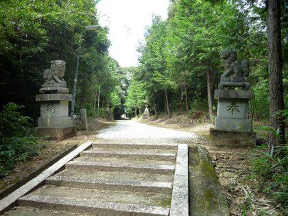 龍池神社 三在 狛犬