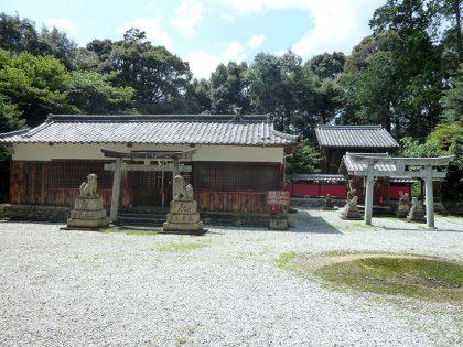 龍池神社 三在 社殿