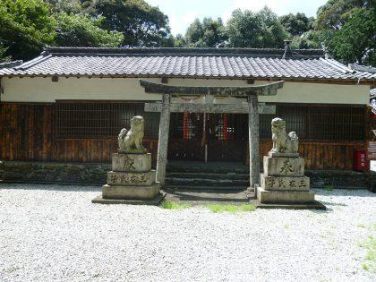 龍池神社 三在 春日大社 社殿