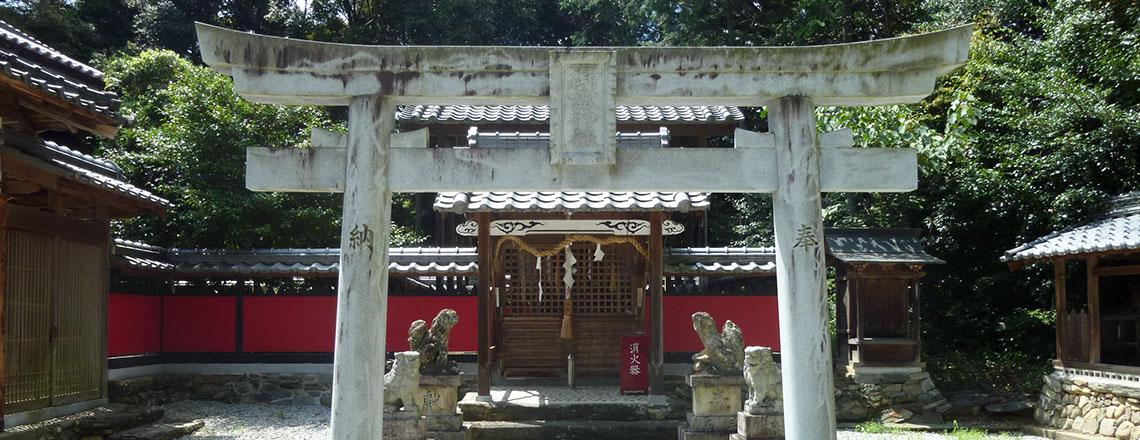 龍池神社 三在