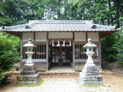 宮前霹靂神社 拝殿