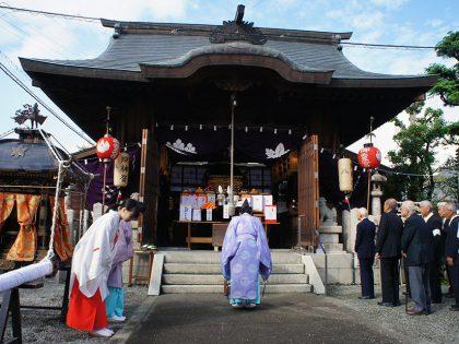 御旅所(恵比須神社)お渡り