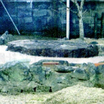 霊安寺三重塔礎石